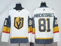 Mens Nhl Vegas Golden Knights #81 Jonathan Marchessault White Hockey Adidas Jersey