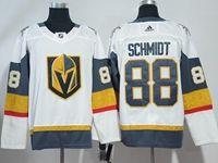 Mens Nhl Vegas Golden Knights #88 Nate Schmidt White Hockey Adidas Jersey