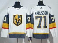 Mens Women Youth Nhl Vegas Golden Knights #71 William Karlsson White Hockey Adidas Jersey