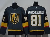 Mens Nhl Vegas Golden Knights #81 Jonathan Marchessault Gray Authentic Player Adidas Jersey