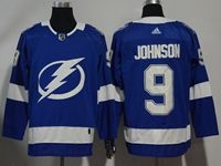 Mens Nhl Tampa Bay Lightning #9 Tyler Johnson Blue Home Breakaway Player Adidas Jersey