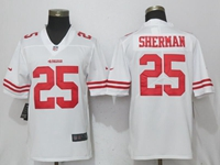 Mens Nfl San Francisco 49ers #25 Richard Sherman White Vapor Untouchable Limited Jersey