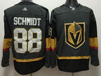 Mens Nhl Vegas Golden Knights #88 Nate Schmidt Gray Authentic Player Adidas Jersey
