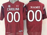 Mens Ncaa Nfl South Carolina Gamecock (custom Made) Red (sec) Elite Jersey