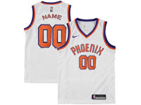 Mens Nba Phoenix Suns Custom Made White Phoenix Nike Jersey