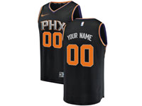 Mens Nba Phoenix Suns Custom Made Black Statement Edition Swingman Nike Jersey
