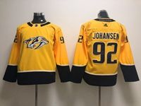 Women Youth Nhl Nashville Predators #92 Ryan Johansen Gold Adidas Jersey