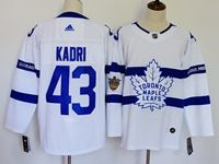 Mens Nhl Toronto Maple Leafs #43 Nazem Kadri White Adidas 2018 Stadium Series Authentic Pro Player Jersey