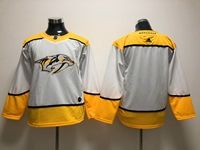 Women Youth Nhl Nashville Predators Blank White Adidas Jersey