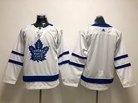 Mens Nhl Toronto Maple Leafs Blank Royal White Breakaway Away Adidas Jersey