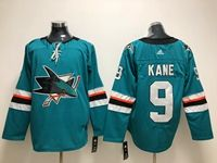 Mens Adidas Nhl San Jose Sharks #9 Evander Kane Green Home Jersey
