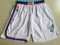 Nba Nike Miami Heat White City Edition Shorts