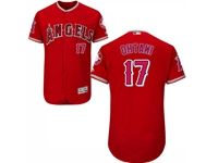 Mens Mlb Los Angeles Angels #17 Shohei Ohtani Red Flex Base Jersey