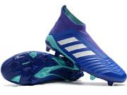 Adidas Predator 18 Fg Football Shoes Blue Colour