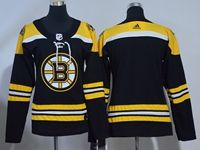 Women Youth Nhl Boston Bruins Blank Black Home Adidas Jersey