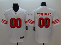 Mens Women Youth Nfl San Francisco 49ers (custom Made) White 2018 Vapor Untouchable Limited Jersey