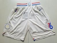 Mens Nba Philadelphia 76ers White Nike Shorts