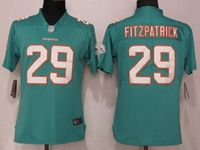 Women Nfl Miami Dolphins #29 Minkah Fitzpatrick Green 2017 Vapor Untouchable Limited Player Jersey
