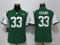 Women New York Jets #33 Jamal Adams Green 2017 Vapor Untouchable Limited Player Jersey