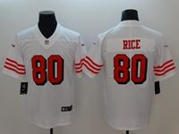 Women Youth Nfl San Francisco 49ers #80 Jerry Rice White Color Rush Vapor Untouchable Limited Jersey