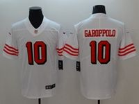 Women Youth Nfl San Francisco 49ers #10 Jimmy Garoppolo White Color Rush Vapor Untouchable Limited Jersey