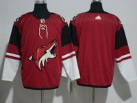 Mens Nhl Arizona Coyotes Blank Red Adidas Home Jersey