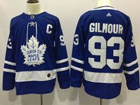 Mens Nhl Toronto Maple Leafs #93 Doug Gilmour Royal Blue Home Adidas Jersey