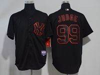 Mens Mlb New York Yankees #99 Aaron Judge Black Cool Base Jersey