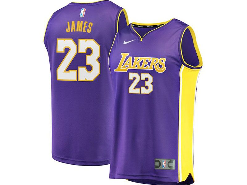Mens Women Youth Nba Los Angeles Lakers  23 Lebron James Nike Swingman  Purple Jersey 4c4b8bdfa