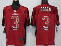 Mens Nfl Arizona Cardinals #3 Josh Rosen Drift Fashion Red Elite Nike Jersey