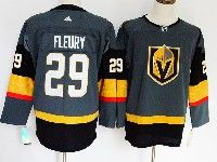 Mens Nhl Vegas Golden Knights #29 Marc-andre Fleury Gray Authentic Player Adidas Jersey