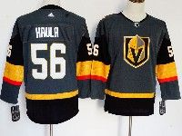Mens Women Youth Nhl Vegas Golden Knights #56 Erik Haula Gray Authentic Player Adidas Jersey