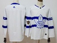 Mens Nhl Toronto Maple Leafs Blank White Adidas 2018 Stadium Series Authentic Pro Player Jersey