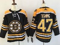 Mens Nhl Boston Bruins #47 Torey Krug Black Home Adidas Jersey