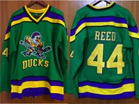 Mens Nhl Anaheim Mighty Ducks #44 Reed Green Movie Jersey
