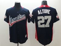 Mens Houston Astros #27 Jose Altuve 2018 Mlb All Star Game American League Navy Cool Base Jersey