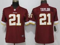 Women Washington Redskins #21 Sean Taylor Red Vapor Untouchable Limited Player Jersey