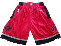 Mens Nba Toronto Raptors Nike Red Shorts