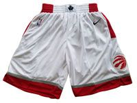 Mens Nba Toronto Raptors Nike White Shorts