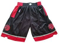 Mens Nba Toronto Raptors Nike Black Shorts