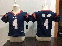 Kids Nfl Houston Texans #4 Deshaun Watson Blue Jersey