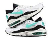 Mens Nike Air Max 93 Running Shoes One Colour