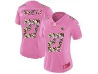 Women Jacksonville Jaguars #27 Leonard Fournette Pink Camouflage Font Love Vapor Untouchable Limited Player Jersey