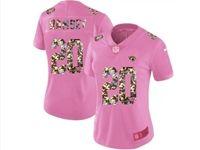 Women Jacksonville Jaguars #20 Jalen Ramsey Pink Camouflage Font Love Vapor Untouchable Limited Player Jersey