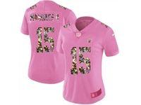 Women Kansas City Chiefs #15 Patrick Mahomes Ii Pink Camouflage Font Love Vapor Untouchable Limited Player Jersey