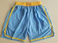 Mens Nba Los Angeles Lakers Light Blue Nike Shorts