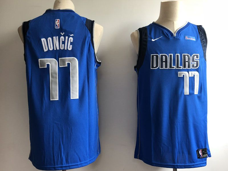 new york e483a ed9ed ECseller Official--Mens Nba Dallas Mavericks #77 Luka Doncic ...