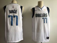 Mens Nba Dallas Mavericks #77 Luka Doncic White 2018 Nba Draft Nike Authentic Jersey