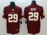 Mens Nfl Washington Redskins #29 Derrius Guice Red Vapor Untouchable Limited Player Jersey