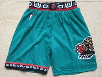 Mens Nba Vancouver Grizzlies Green Mesh Shorts